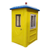 Quaint kiosk security Pavilion outdoor Factory property School Entrance security kiosk multifunctional mobile activities Sunshine Room