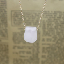 Xin yue beautiful act the role ofing is tasted Natural stone series amethyst crystal powder tiger stone necklace