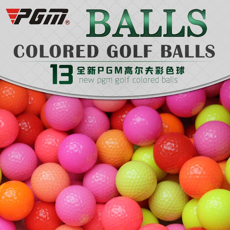 Подлинный PGM гольф цвет мяч совершенно новый гольф мяч история практика мяч твердый мяч многоцветный выбранный