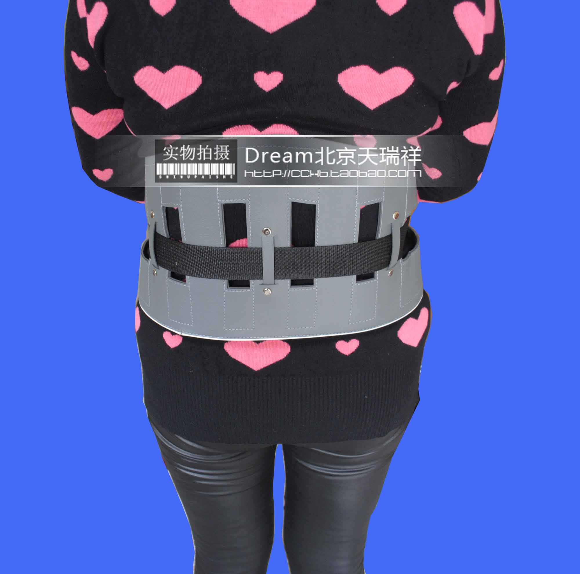 A new type of enhanced large pattern waistline (10 times more effective) health care waist protection waist fixed belt to keep warm