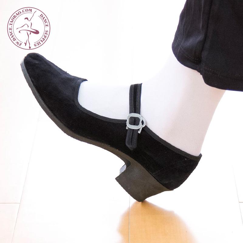 Ребенок взрослых женщин стиль народ танец обувной кадриль обувной старый пекин ткань обувная саженец песня черный цвет обувной работа обувной