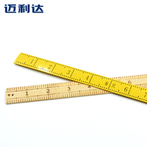 DIY tailor ruler Plastic ruler household ruler ruler sewing tool size cloth ruler Bamboo Ruler microarchitecture Cutting