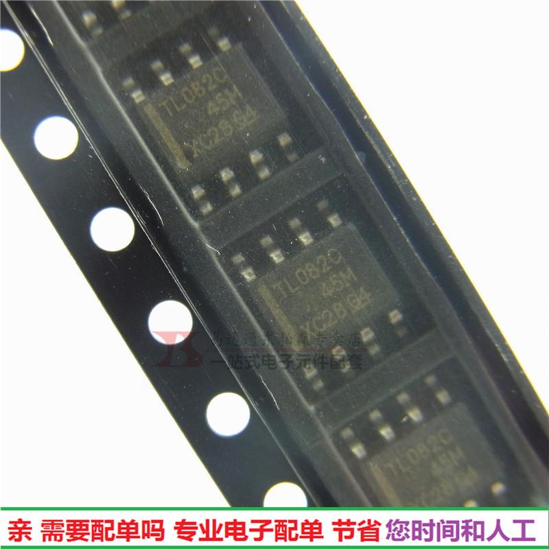 进口 TL082C 运放大器 进口IC芯片 贴片SOP8  全新
