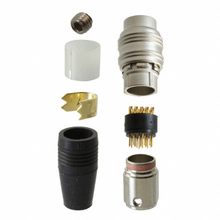 HR25A-9P-20P「20 POSITION PLUG MALE PINS SOLDER GOLD」