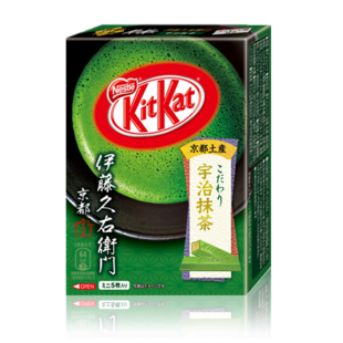 Japan Ito Kyuemon Kyoto Uji Matcha Nestle Kit Kat Kit Kat chocolate bar 5 Boxed
