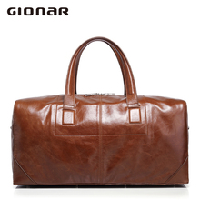 Cowhide leather male baotou layer hand the bill of lading shoulder bag men leisure bags large capacity hold-all male