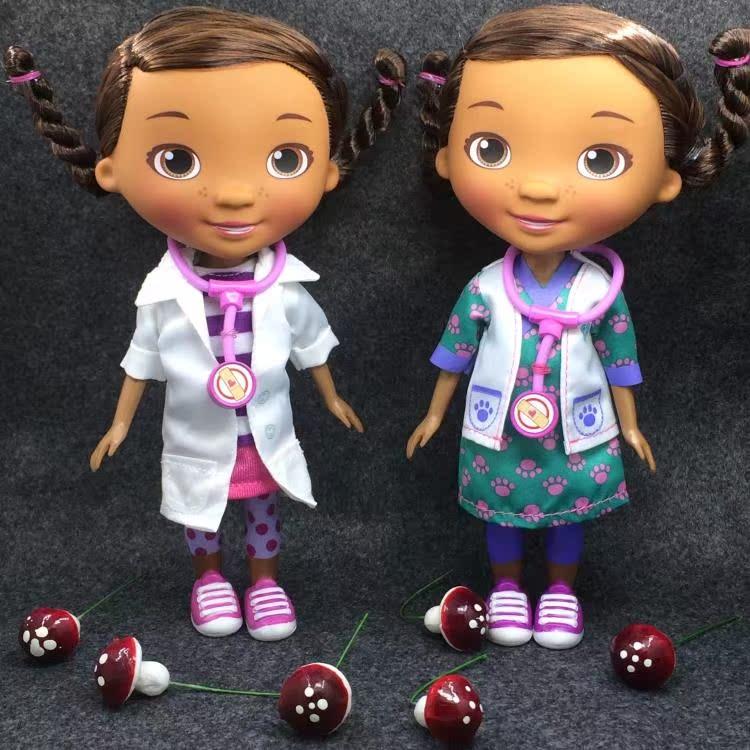 Подлинное Дисней Disney Doc McStuffins игрушка доктор кексы суставной движимого кукла