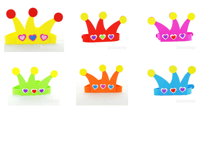 Activity props role play performance props love crown candy color optional