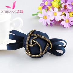 Zhijiang loving Butterfly clip spring clip jewelry, Japan and South Korea top with Rhinestone ponytail holder flowers tiara adult hair accessories