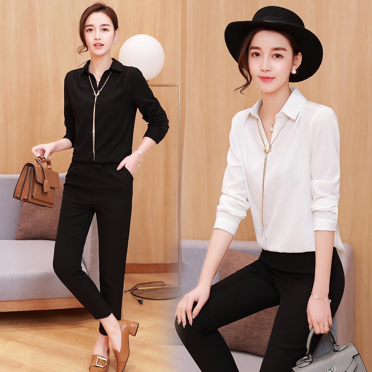 品牌18-25气质季两件套专柜新款春装气质专卖店女装春季套装韩版