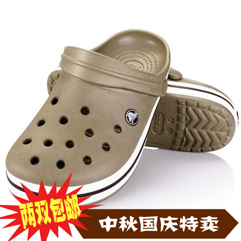 Crocs обувь женщин летом 2015 новый c класс женщин сандалии плоские ботинки мужская обувь мода