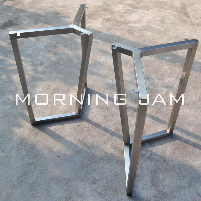A049 *全手工制作设计师餐桌 架子 可改尺寸 私人定制