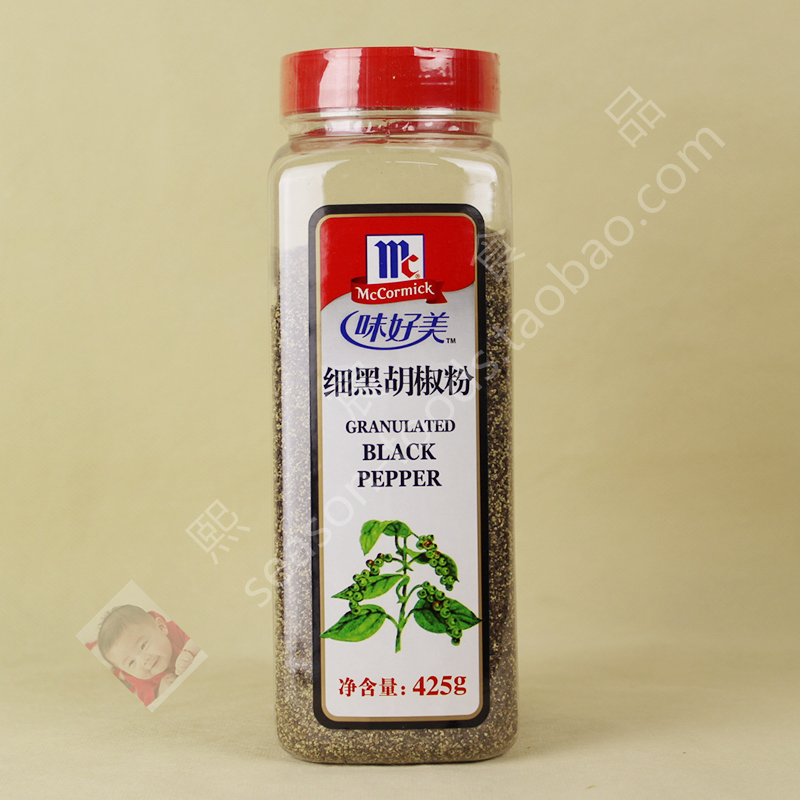 McCormick Granulated Black Pepper 味好美 细黑胡椒粉 425g