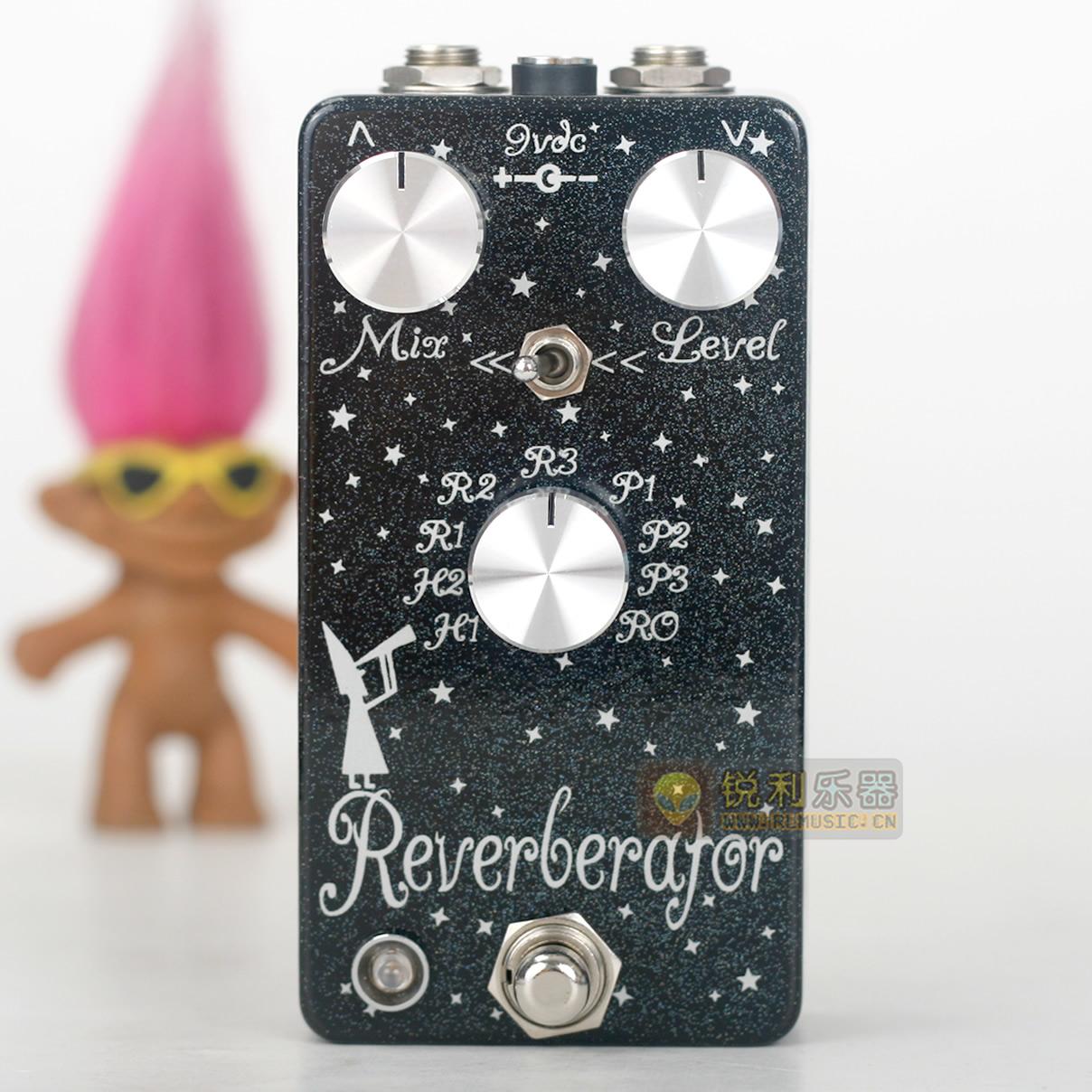 【Dr. Scientist Reverberator】9模式混响效果器【锐利乐器】