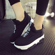 2015 winter season increased new Korean version of thick-soled platform shoes shoes shoes casual shoes set foot the lazy man shoes