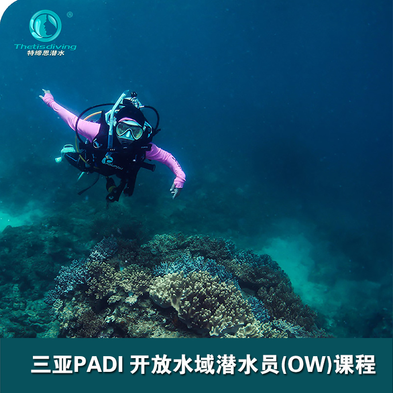 Research on the PADI ow / AOW diving course in Sanya