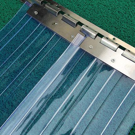 透明pvc塑料软门帘隔断帘厨房家用皮空调帘子秋冬季保暖防风挡风