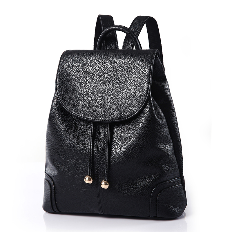 Buxini new simple backpack fashion Korean leisure backpack trend backpack retro womens bag
