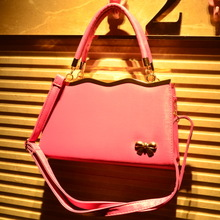 Article 1400 spring 2015 new platinum bag handbag butterfly square briefcase mail his single shoulder bag