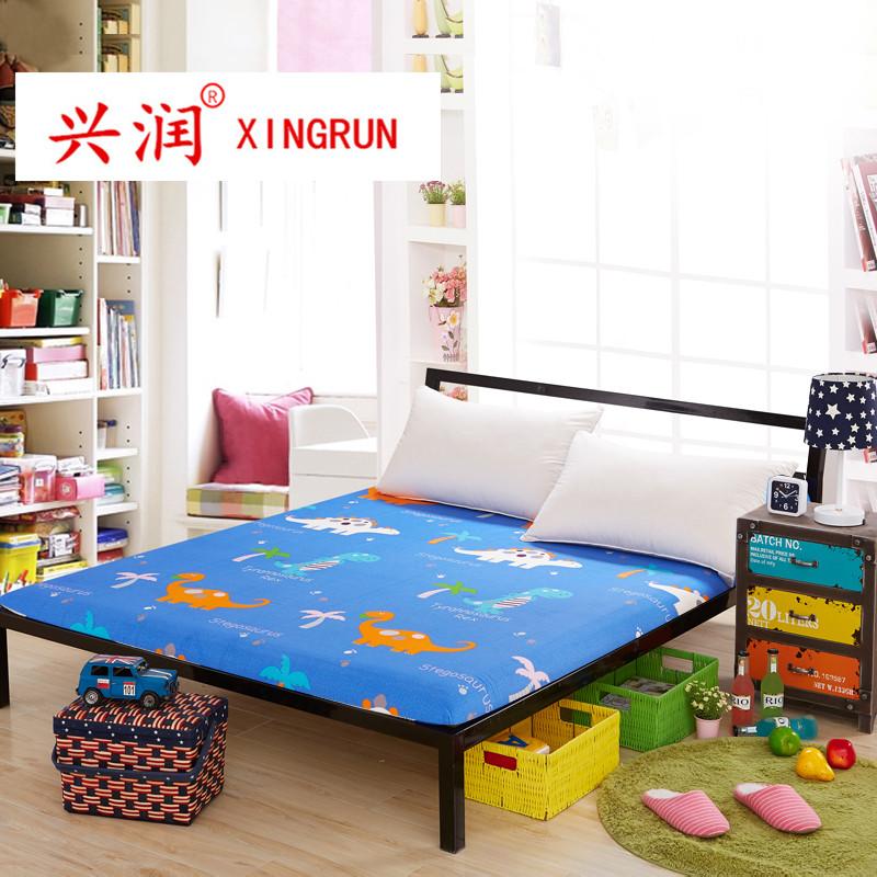 定製純棉單件床笠4 5 6 7 8 9 10cm高度棕墊薄墊上下鋪兒童床