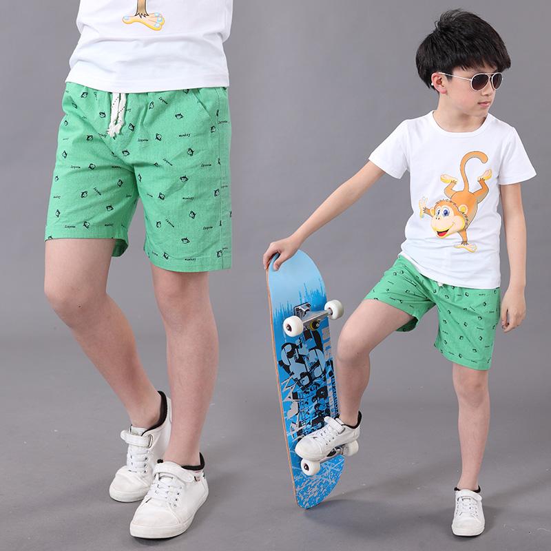 兒童 中大童9~11周歲中褲