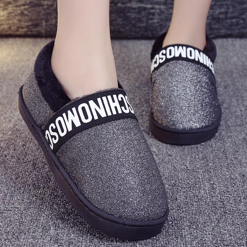 棉拖鞋女室內外保暖居家鞋全包跟加厚底防滑防水月子毛毛棉鞋