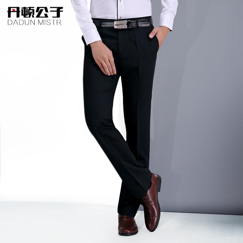 Красный дейтон сын мужской брюки облегающий, южнокорейская версия прямо свободный молодежь бизнес оккупация костюм костюм официальная одежда брюки