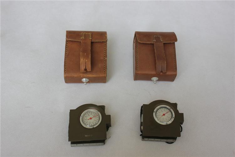 正品62式指北针 指南针 全新指北针 带皮盒 特价促销数量有限