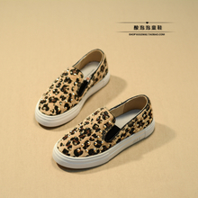 Fall 2015 children sandals girls Yang mi in same canvas shoes rivets casual shoes slip-on shoes parent-child lazy person