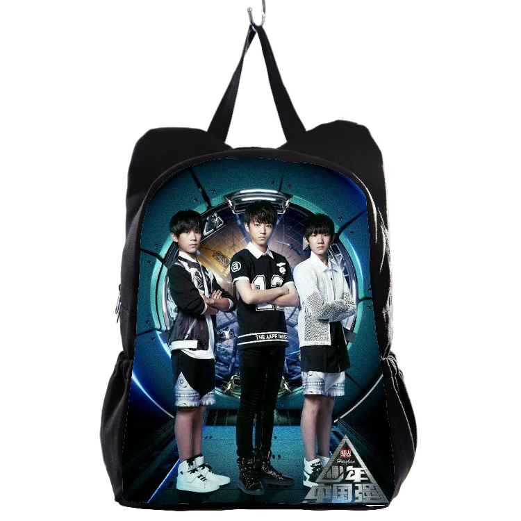 Начать занятия сезон новой деятельности в продаже ACG101 tfboys портфель король красивый торжествующий король источник портфель рюкзак