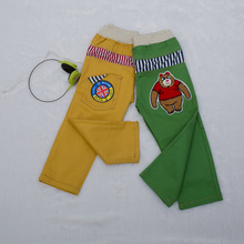 Spring 2015 The spring and autumn period and the han edition of the new children's clothing boy children pure color Candy leisure long trousers