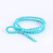 Know Connie hair accessories Korean Mint green color high elastic rubber band based string fresh red rope