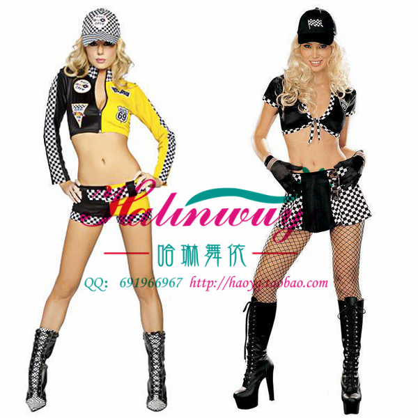 Halloween uniform role play DS stage performance Costume Sexy nightclub fashion sexy racing baby clothes