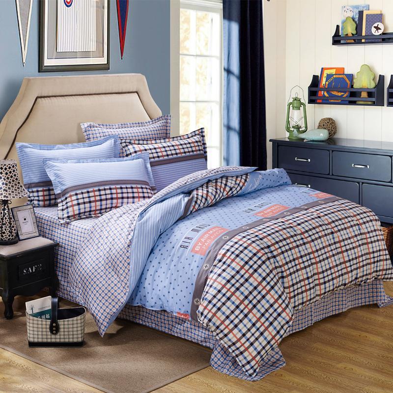 新品热销 全棉印花12868四件套 活性/半活性纯棉斜纹床上用品包邮