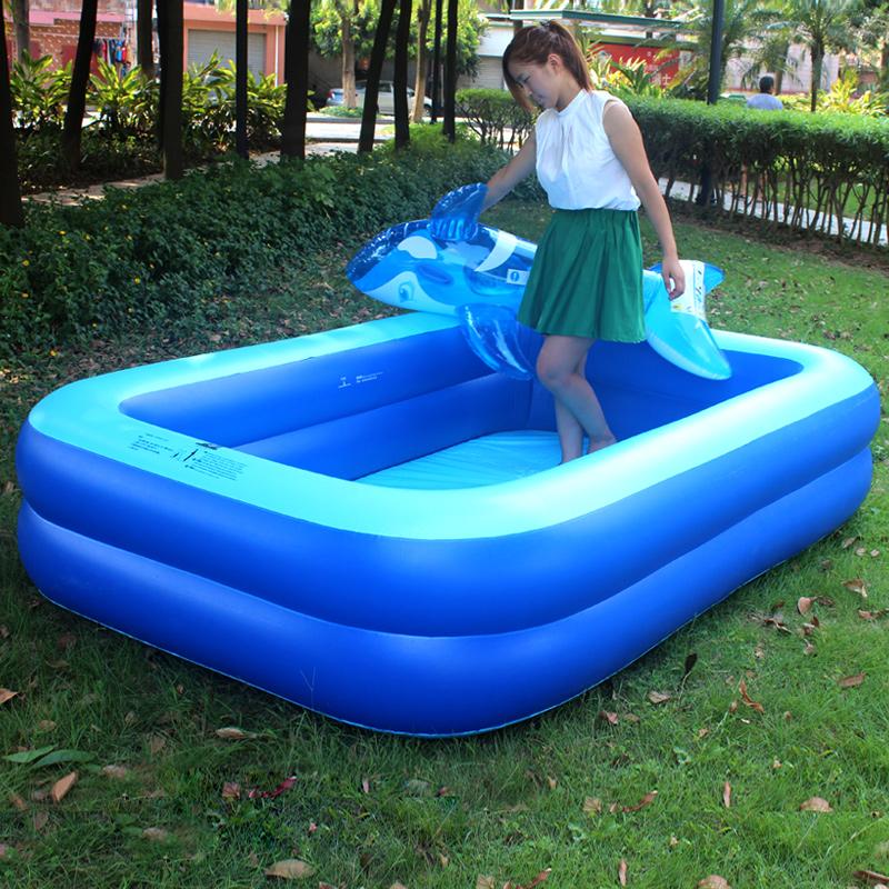 儿童游泳池 成人家庭大号加厚充气水池儿童宝宝婴儿游泳池包邮