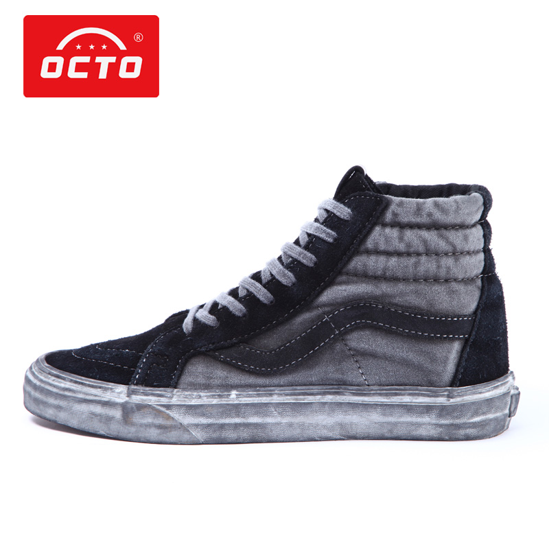 Octo ocato high top sk8 retro wash used canvas shoes mens shoes womens shoes casual shoes sports shoes board shoes