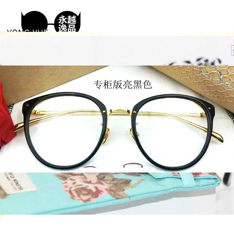 Ninety wood with a jm1000062 round box art frame glasses fashionable students men  women glasses