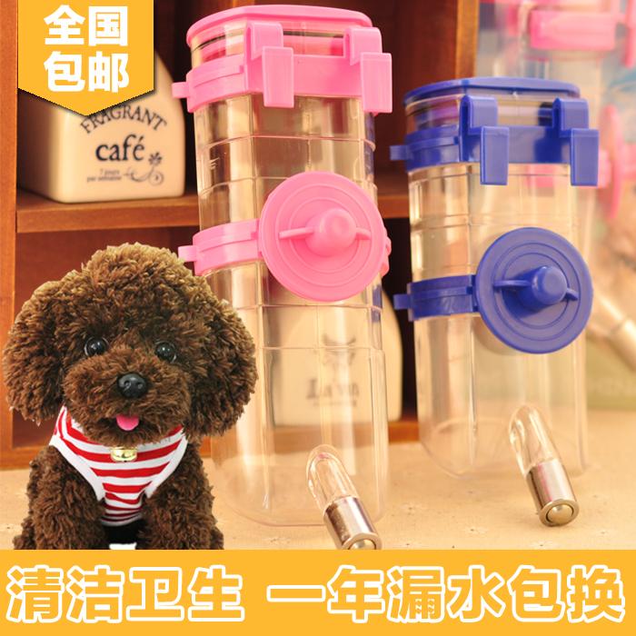 Собака питьевой устройство домашнее животное пейте много воды устройство подвесной собака чайник тедди китти распылитель щенок подача нагреватель воды статьи
