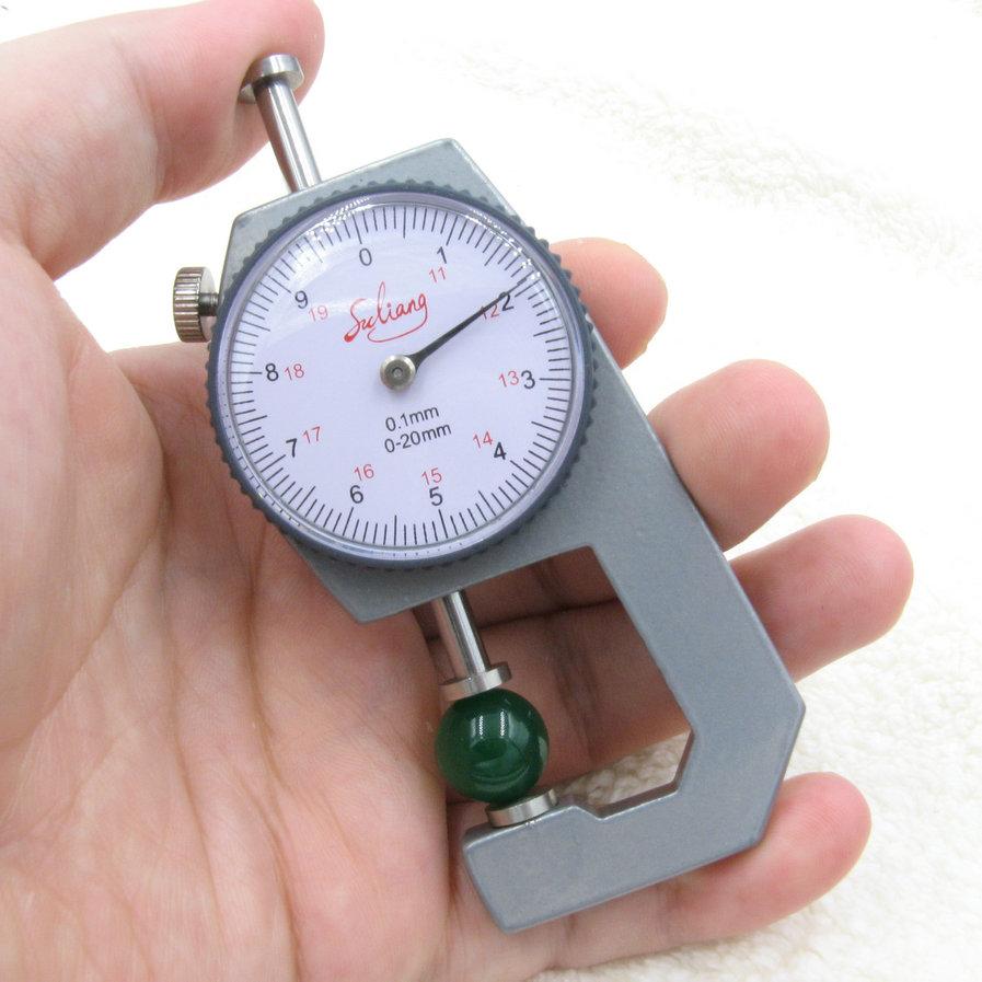 Жемчужина измерение инструмент ювелирные изделия мера толстый инструмент правитель кард-ридер тур стандартные карты правитель 0-20mm плоская голова мера бусы диаметр
