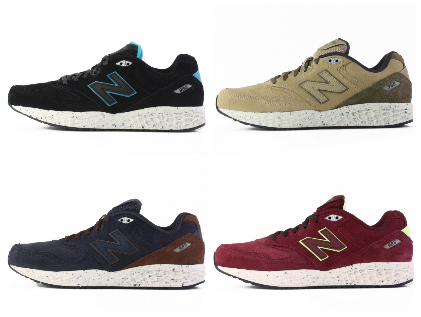 ac96111d6ebae Suede light professional new balance New Balance M988BO/OB/OV/OF men running  shoes - Taobao Depot, Taobao Agent