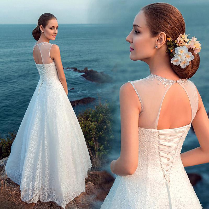 Благородных невесты Свадебные платья 2015 новые юбка кружева свадебное платье Свадебные платья сексуальный пирсинг слово 515
