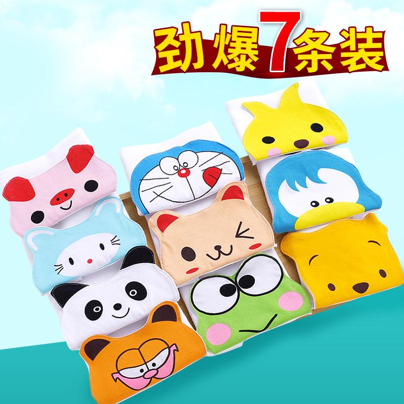 Ребенок хлопок пот полотенце ребенок ребенок марля модель пот подушка строп увеличение хлопок детский сад 0-1-3-4-6 лет