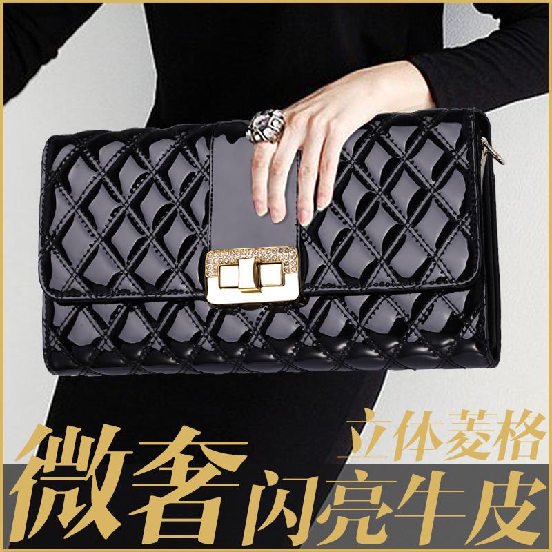 2015新款 欧美时尚牛皮手拿包女手包女包女小包包单肩晚宴包Q8