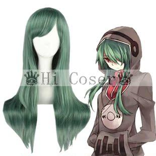 Hicoser & Lt; Kagero Проект & GT; древесина Кобе зеленые почки Kido 65см парик косплей 167F