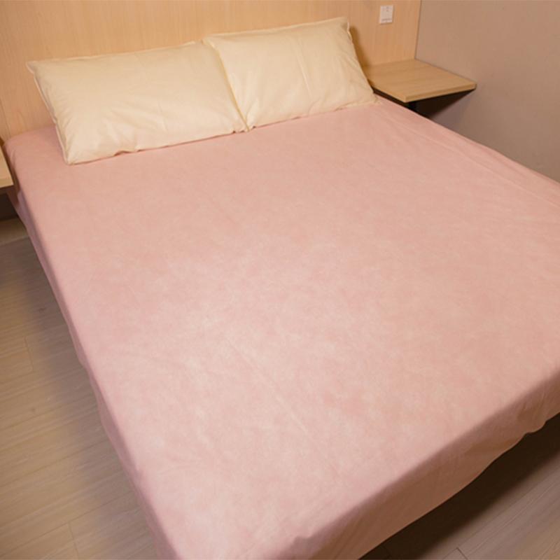 Пыленепроницаемый постельное покрывало путешествие путешествие ткань одноразовые матрас отели противо бактерии противоклещевой домой лист кровать крышка