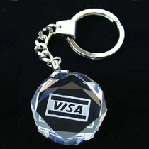 Crystal keychain custom crystal souvenir crystal pendant custom student party souvenirs 2272
