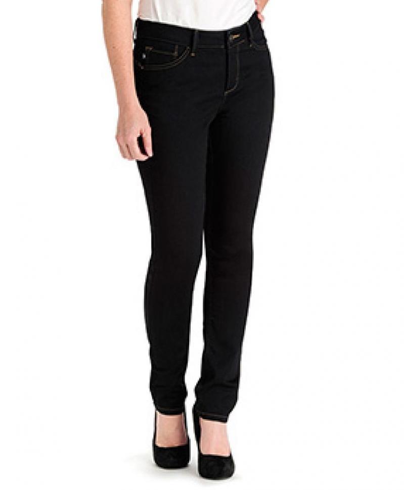 美国直邮LEE 35167-3女修身纯色铅笔长裤牛仔裤包邮