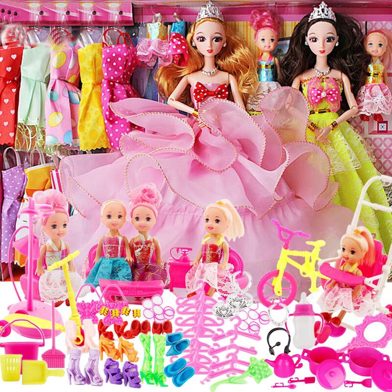 女宝宝12-3周岁小芭比78男娃娃玩具热销0件限时秒杀