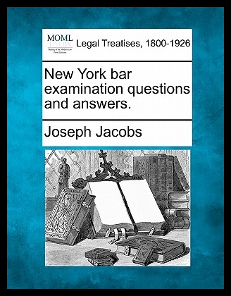 【预售】New York Bar Examination Questions and