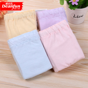 4 genuine butterfly Anfen XL cotton underwear adjustable waist belt cotton underwear Ms pregnant women